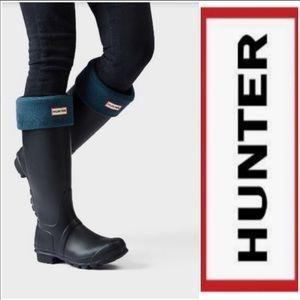 Hunter Tall Boot Socks - Ocean